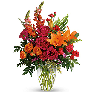 Send Punch of Color Bouquet