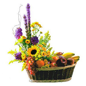 Send Fruit and Flowers Basket